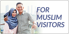 For Muslim Visitors