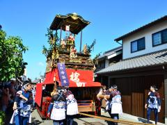 Arimatsu Tenman Shrine and Autumn Festival (Arimatsu Float Festival)