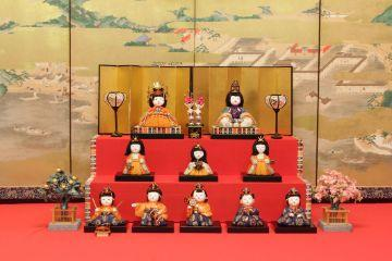 Special Doll Festival of the Owari Tokugawa Family exhibition